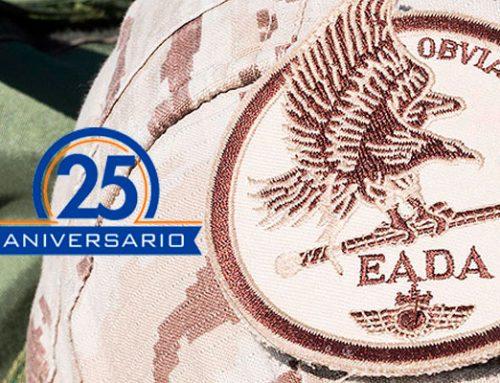 Escuadrón de Apoyo al Despliegue Aéreo del EA cumple 25 años
