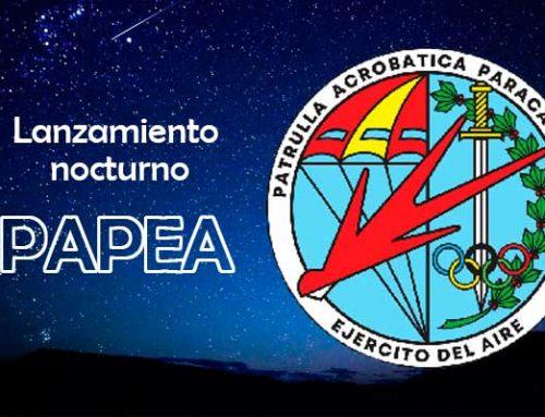 Lanzamiento nocturno de la PAPEA