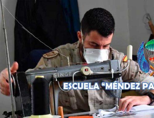 La Escuela Méndez Parada fabrica mascarillas