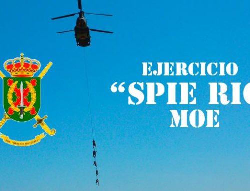 """Grupo de Operaciones Especiales de Valencia III alcanzan los 60 nudos en la maniobra """"spie rig"""""""