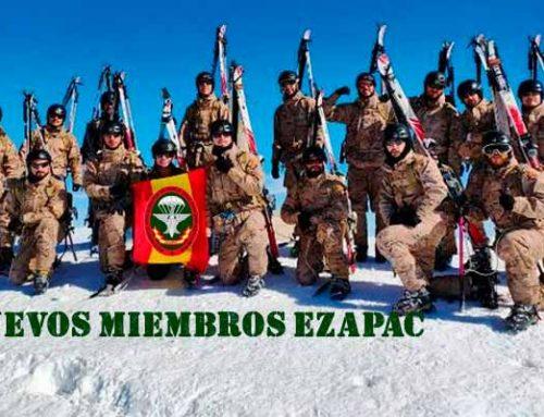 Nuevos 15 miembros boinas verdes del EZAPAC