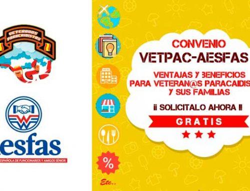 Ofertas de hoy AESFAS para usuarios VetPac