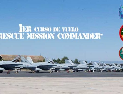 "Primer curso de vuelo ""Rescue Mission Commander"""