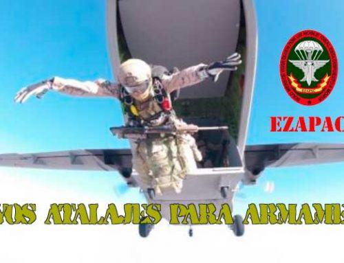 El Ezapac efectúa más de 500 saltos desde aviones C-295 y Aviocar
