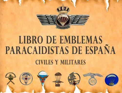 Libro de emblematologia paracaidista de España