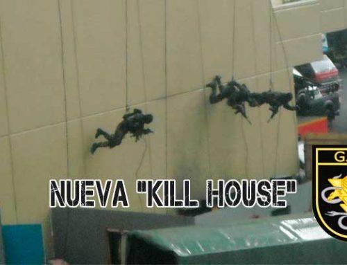 """Nuevas instalaciones """"Kill House"""" para entrenamientos de los GEO"""