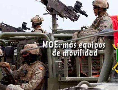 El Mando de Operaciones Especiales del ET doblarán sus equipos de movilidad