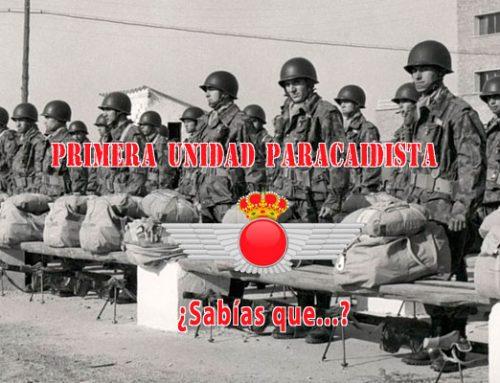 La primera Unidad Paracaidista de España