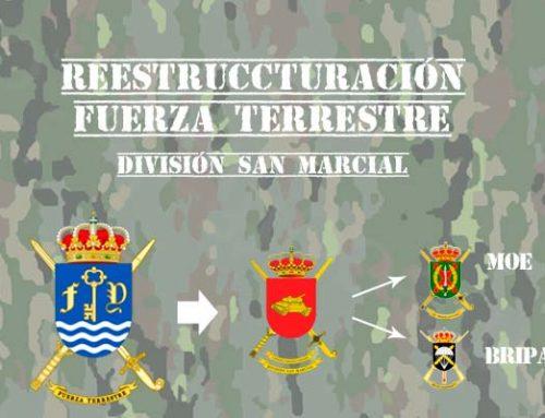 Reestruccturación FUTER: MOE y BRIPAC en la División San Marcial