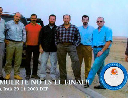 Los 8 agentes del CNI asesinados en Irak en 2003