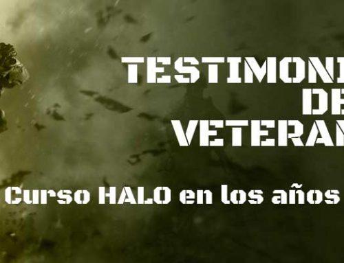 Curso y formación paracaidista HALO en los años 70 en España