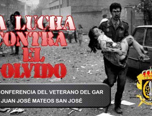 """Videoconferencia de un veterano GAR contra ETA: """"La lucha contra el Olvido"""""""