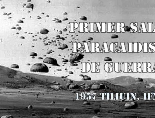Guerra de Ifni Sahara: primer salto paracaidista de guerra