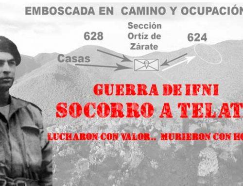Guerra de Ifni: sección paracaidista del Tte. Ortíz de Zarate al socorro de Telata