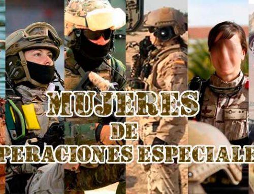 Mujeres de operaciones especiales del ejército español y GC