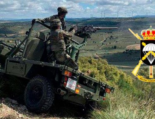 La Brigada Paracaidista evalúa diferentes sistemas de armas sobre su Vehículo Aerolanzable Falcata