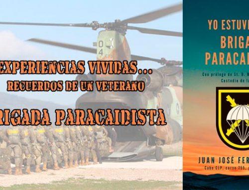 Nuevo libro: Yo estuve en la Brigada Paracaidista