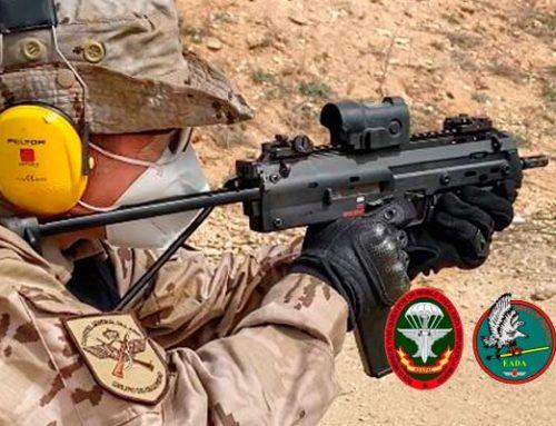 ¿Subfusil MP7 para el EZAPAC y EADA del Ejército del Aire?