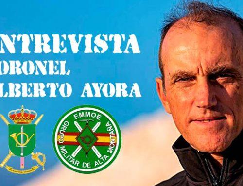 Entrevista al Coronel Alberto Ayora