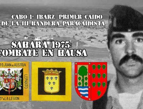 Cabo 1º Ibarz, primer caído de la III Bandera paracaidista