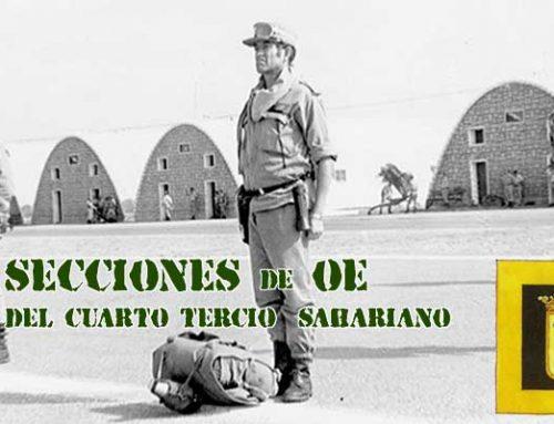 Las Secciones de Operaciones Especiales del 4º Tercio Sahariano