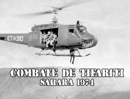 Combate de una SOE en Tifariti, Sáhara 1974