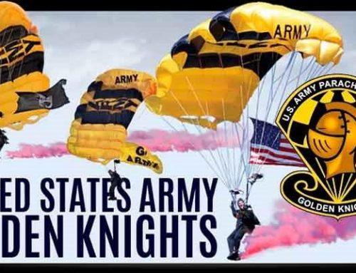 Golden Knigths, equipo de exhibición y competición paracaidista