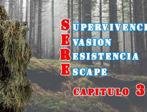 3-Supervivencia, Evasión, Resistencia y Escape (SERE)