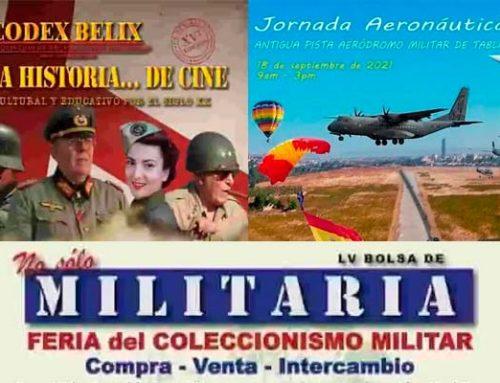 Eventos, actividades paracaidistas, aéreos y ferias